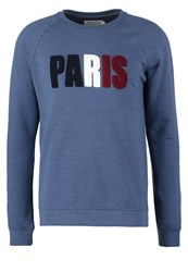 Pier One Sweatshirt French Navy Dark Blue