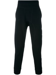 Neil Barrett Gathered Ankle Track Pants Black