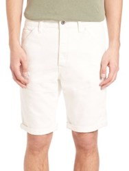 G Star 3D Tapered Shorts Rinsed
