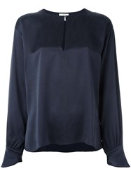 Forte Forte 'My Shirt' Blouse Blue