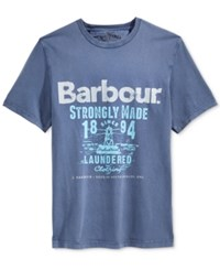 Barbour Men's Wright Laundryman T Shirt Inky Blue