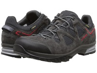 Lowa Phoenix Gtx Lo Anthracite Red Men's Shoes Gray