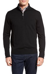 Tailorbyrd Men's Backfoot Quarter Zip Wool Sweater