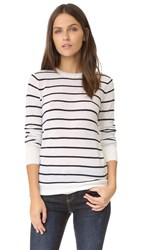 Club Monaco Mackenzie Sweater White Stripe