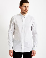 Selected One Shleth Long Sleeve Shirt White