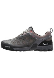 Salewa Ms Firetail 3 Walking Shoes Black Olive Papavero