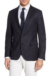 Men's Gant 'Hopsack' Trim Fit Wool Sport Coat