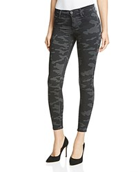 Hudson Super Skinny Jeans In Blackout Camo