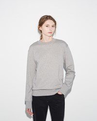 Acne Studios Carly Pullover Pale Grey Melange