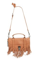Proenza Schouler 'Tiny Ps1' Fringe Leather Satchel