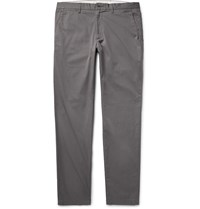 Club Monaco Connor Slim Fit Cotton Twill Chinos Gray