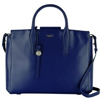 Radley Beaufort Large Leather Multiway Grab Bag Blue