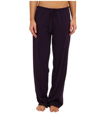 Jockey Cotton Essentials Long Pajama Pant Eggplant Women's Pajama Purple