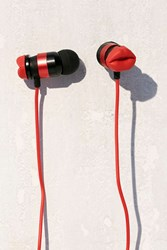 Urban Outfitters Kiss Don't Tell Earbud Headphones Red