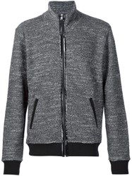 Maison Martin Margiela Maison Margiela Textured Zip Up Jacket Grey