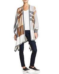 Bailey 44 Noho Plaid Poncho Cardigan