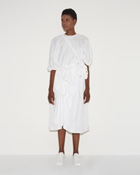 Simone Rocha Knotted Skirt White