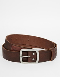 Superdry Belt With Gift Box Brown
