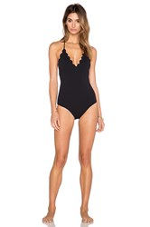 Marysia Swim Broadway Reversible Triangle Swimsuit Black