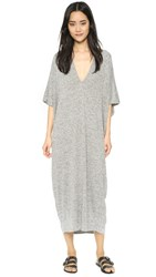 Riller And Fount Luca Caftan Midi Dress Pebble