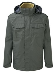 Craghoppers Men's Wheeler 3In1 Waterproof Jacket Green