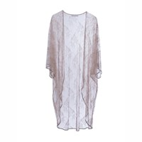 Roses Are Red Lilies Need A Poem Too Kimono Beige White