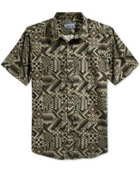 American Rag Men's Short Sleeve Webster Print Shirt Only At Macy's Forest Night