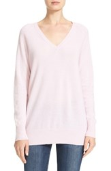 Equipment Women's 'Asher' V Neck Cashmere Sweater Petal Pink