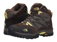 The North Face Storm Ii Mid Wp Shroom Brown Chiffon Yellow Women's Cold Weather Boots