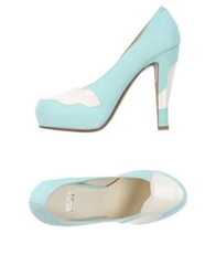Michel Perry Pumps Sky Blue