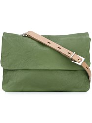 Ally Capellino 'Figgy' Crossbody Bag Green