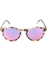 Kyme 'Miki' Sunglasses Pink And Purple