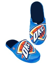 Forever Collectibles Men's Oklahoma City Thunder Big Logo Slippers