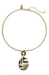 Women's Kate Spade New York 'Mod Moment' Collar Necklace Black