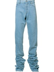 Y Project Extended Leg Jeans Blue
