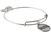 Alex And Ani Mlb Atlanta Braves Charm Bangle Rafaelian Silver Finish Bracelet