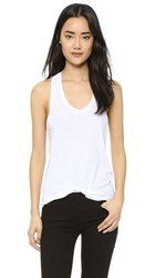 Cotton Citizen The Mykonos Racer Tank White