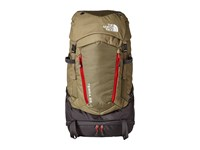 The North Face Terra 65 Mountain Moss Pompeian Red 1 Backpack Bags Olive