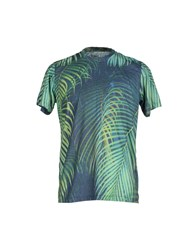 Pagano Topwear T Shirts Men Green