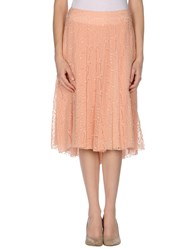 Strenesse Gabriele Strehle Knee Length Skirts Light Pink