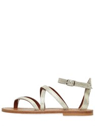 Kjacques St.Tropez 10Mm Epicure Metallic Leather Sandals