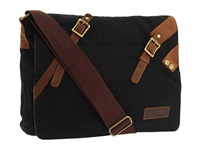Bed Stu Declan Black Messenger Bags