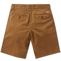 Barbour Neuston Twill Short Brown