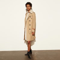Coach Classic Animated Trench Khaki