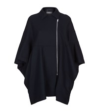 Escada Sport Fluted Sleeve Cape Female Navy