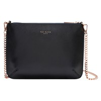 Ted Baker Soraya Exotic Leather Across Body Bag Navy
