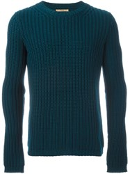 Nuur Ribbed Jumper Green