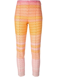 Missoni Cropped Slim Crochet Trousers