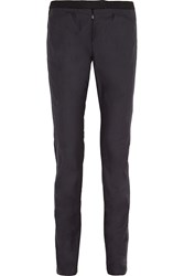 Isabel Marant Norton High Rise Twill Skinny Jeans Blue