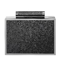Becksondergaard Black Iga Sparkle Box Clutch